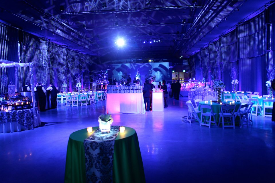 Corporate Event lighting - Space 57, Boston